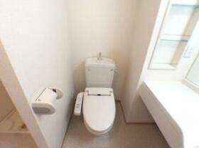 シェルメゾン B 101号室のトイレ
