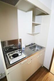 ハピネスソルファ 603号室 603号室のキッチン