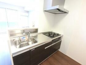BSvilla A 102号室のキッチン
