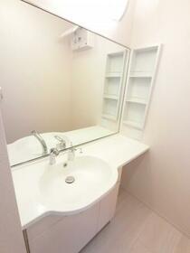 BSvilla A 102号室の洗面所