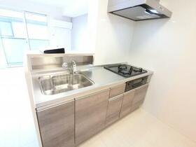 BSvilla A 201号室のキッチン