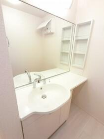 BSvilla A 201号室の洗面所