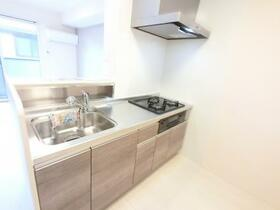 BSvilla A 203号室のキッチン