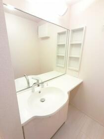 BSvilla A 203号室の洗面所
