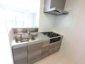 BSvilla B 201号室のキッチン