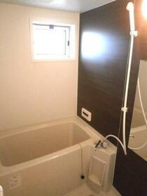 パルティールC 203号室の風呂