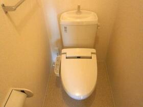 パルティールC 203号室のトイレ