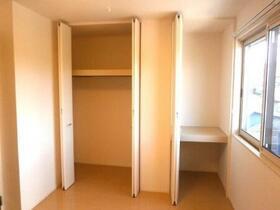 パルティールC 203号室の収納