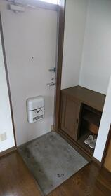 赤羽ハイツ 204号室の玄関