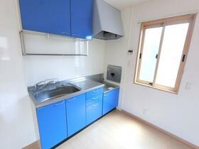 ラピス・スクェア D201号室のキッチン