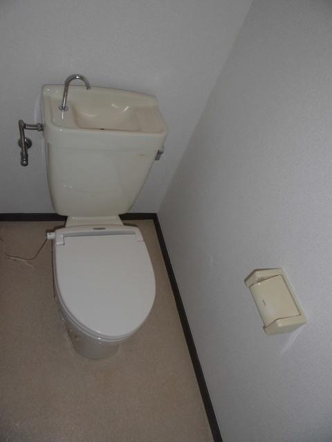 メゾン栄和 01010号室のトイレ
