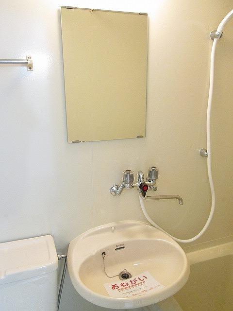 ジュネスシモガキ 01020号室の洗面所