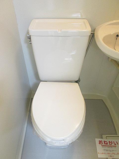 ジュネスシモガキ 01020号室のトイレ