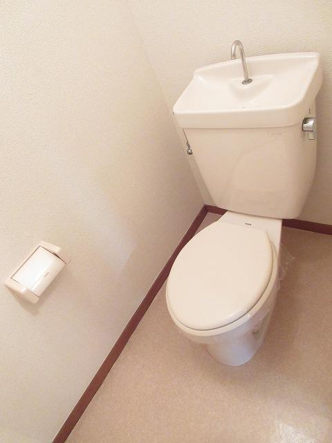 エルディム藤ニュータウン3 01040号室のトイレ