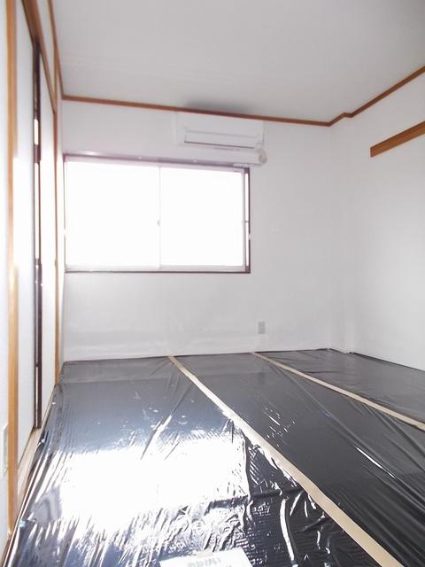 ピースファルハイツ 02040号室のベッドルーム