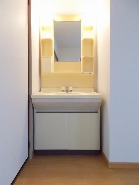 ピースファルハイツ 02040号室の洗面所