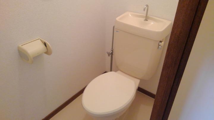 エルディム川島 01010号室のトイレ