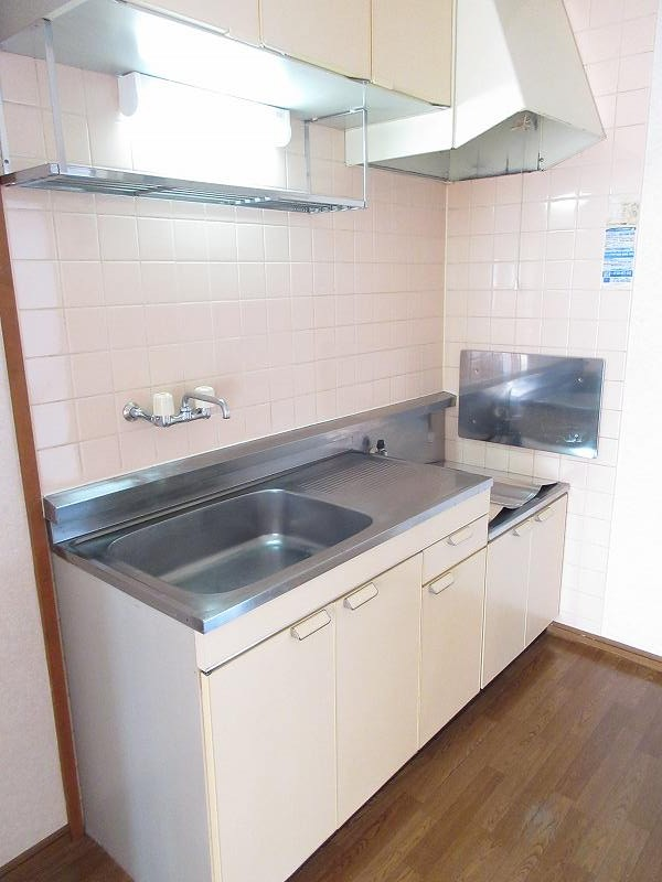 ハイツユーユー 01010号室のキッチン