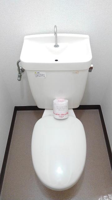 エルディムエンドウ 01030号室のトイレ