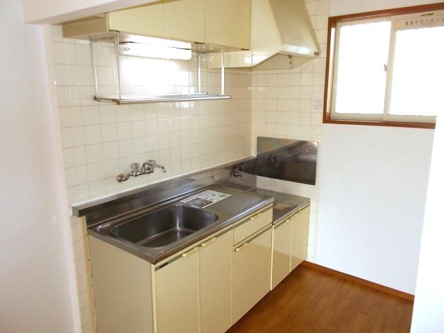ロイヤル川田 01010号室のキッチン