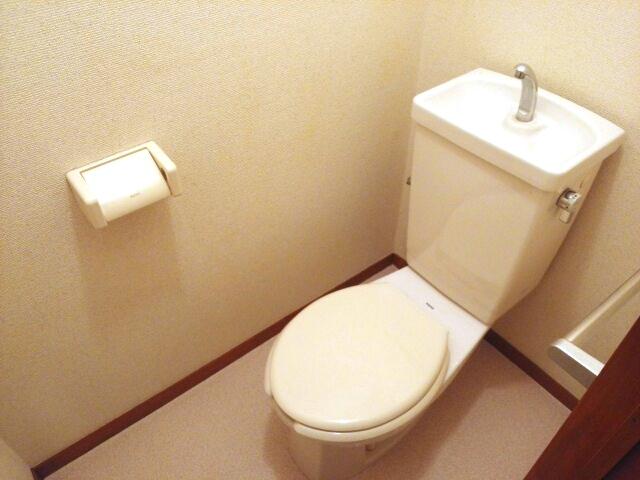 ロイヤル川田 01010号室のトイレ