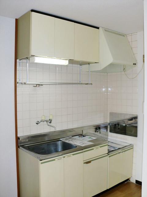 エルディムリバーサイド 01040号室のキッチン
