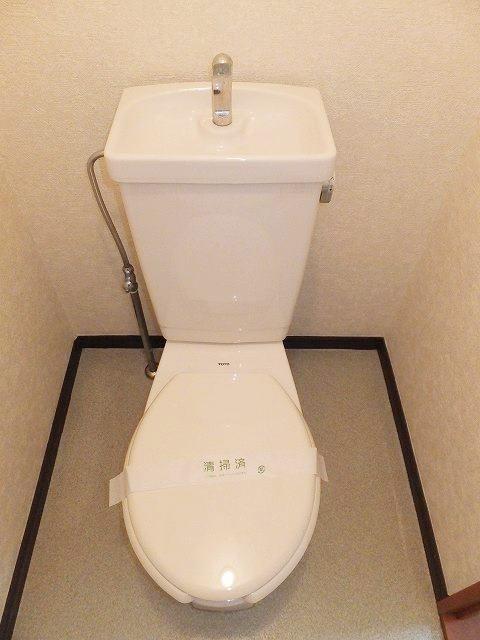 エルディムリバーサイド 01040号室のトイレ