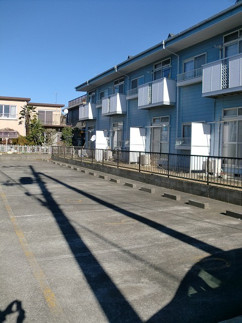 エルディムリバーサイド 01040号室の駐車場