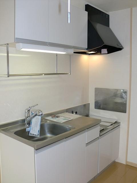 エルディムリバーサイド 02040号室のキッチン