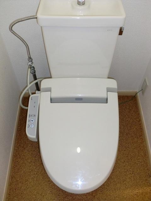 エルディムリバーサイド 02040号室のトイレ