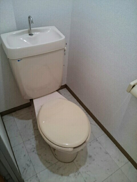 サンサニーハイツ 01020号室のトイレ