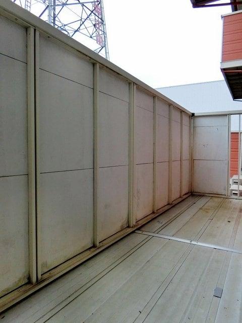 メゾンベールB 01020号室のバルコニー