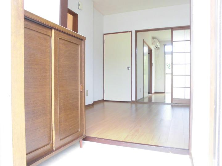 サンライフホリゴメA 01020号室の玄関