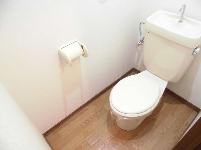 サンライフホリゴメA 01020号室のトイレ