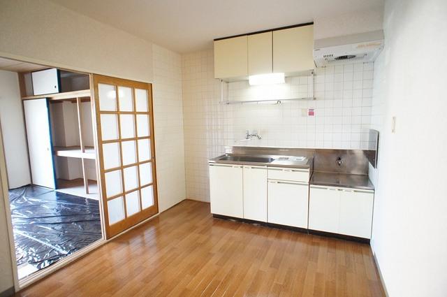 ヴィレッジ愛 02020号室のキッチン