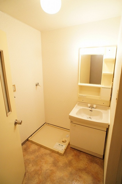 ヴィレッジ愛 02020号室の洗面所
