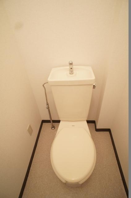 ヴィレッジ愛 02020号室のトイレ