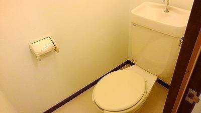 エルディム比治山 01010号室のトイレ