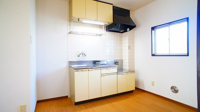 友和ハイツ 01030号室のキッチン