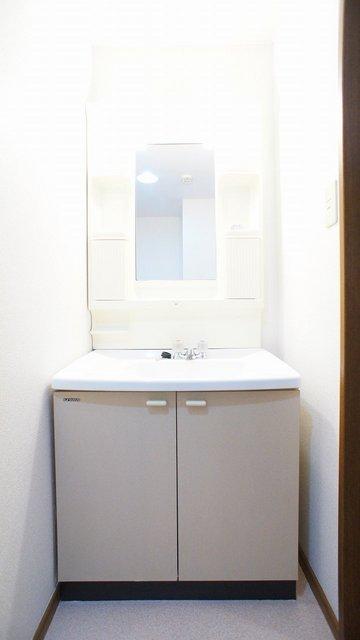 メゾンド長島 02040号室の洗面所