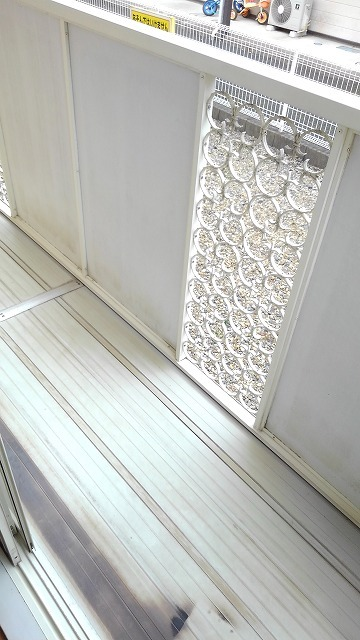 エルディム蓮田シティⅡ 01020号室のバルコニー
