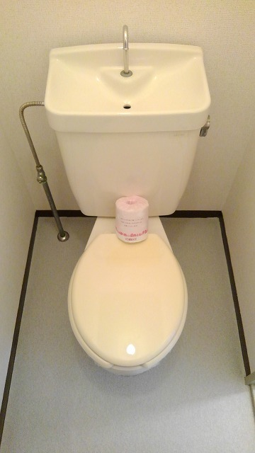 城タウン2 02020号室のトイレ