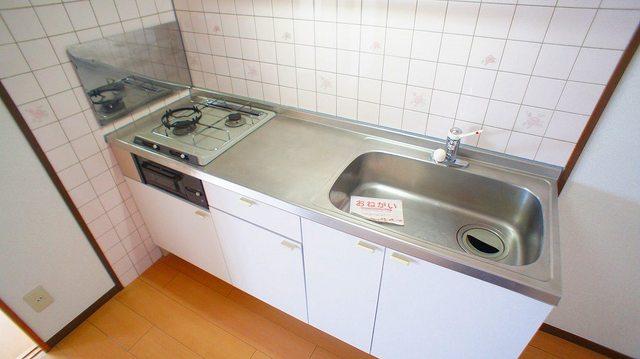 クレストヴィラヒヨシ 03030号室のキッチン