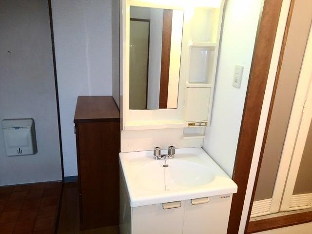 アライハイムⅡ 02030号室の洗面所