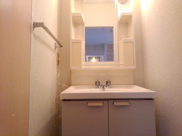 ファミーユ ハイツ Ⅱ 01010号室の洗面所