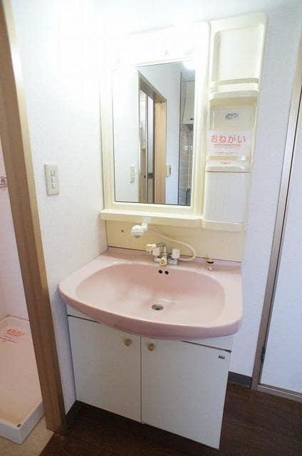 ハイ・マート六本木 02030号室の洗面所