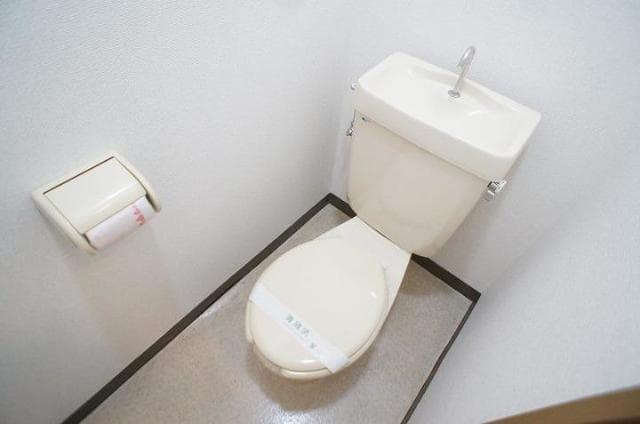 ハイ・マート六本木 02030号室のトイレ
