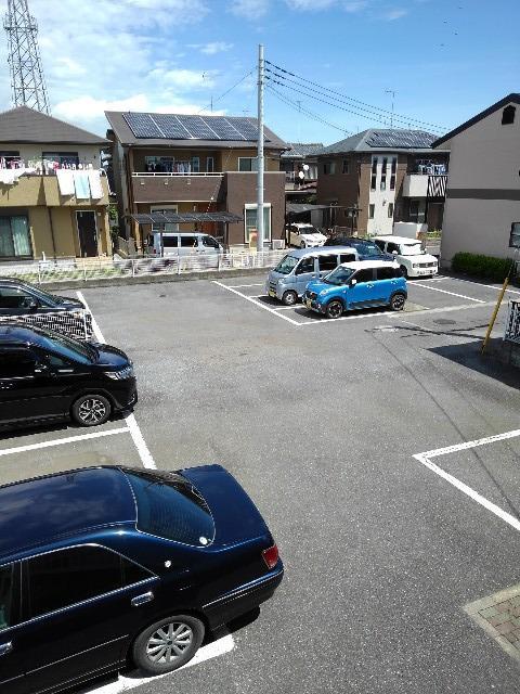 ニューシティー大沢Ⅱ 02030号室の駐車場