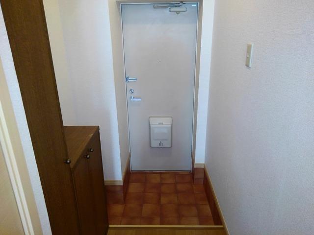 ドリームハイツA 01010号室の玄関