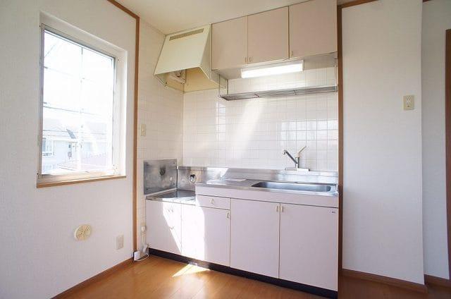 マノワールA 02010号室のキッチン